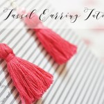 DIY Tassel Earrings Tutorial