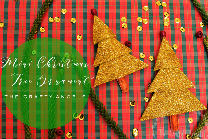 Mini Christmas tree ornament, mini christmas tree, christmas tree idea, christmas craft, tree ornament, diy tree ornament, diy holiday decor, diy christmas decor, diy christmas crafts, christmas craft, holiday craft. christmas activity, chrismtas ornaments, handmade tree ornaments, handmade holiday ornament, holiday tree ideas,