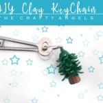 Clay keychain DIY tutorial