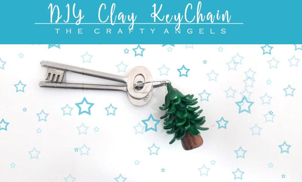 clay keychain, polymer clay tutorial, shilpakar tutorial, shilkpar clay, hobbyidead clay, white clay, clay ornaments, clay craft, clay modelling