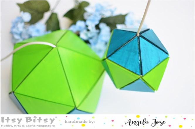 DIY geometric lampshade with foam sheets , DIY geometric lampshade, diy lampshade, quilted lampshade, geometric diy, simple lampshade, handmade lampshade, lampshade with cardboard, foam craft, diy with cardboard