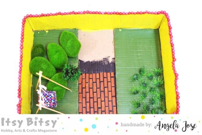 Darling DIY Dollhouse with Cardboard boxes, DIY dollhouse, dollhouse tutorial, cardboard dollhouse, kids craft, colorful dollhouse, dollhouse tutorial, making a dollhouse, simple dollhouse, recycled dollhouse