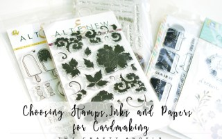how to choose stamps inks papers for scrapbooking and cardmaking, scrapbooking supplies 101, cardmaking supplies 101, craft supplies in india, cardmaking supplies india, stamps for cardmaking indis