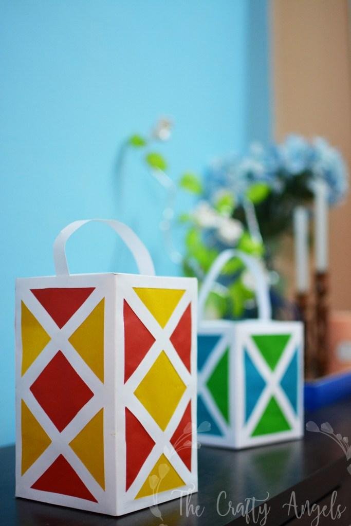 DIY paper lantern for diwali, paper lantern tutorial, diwali aakash kandil, aakash kandil tutorial, diy diwali crafts, diwali decor ideas, diwali crafts for kids, diwali ideas