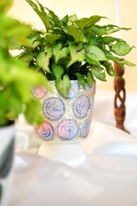 Angela Jose Crafttreat GDT post - decoupaged planters, DIY planter, handmade planter, decoupage planter, diy planter for indoor plants