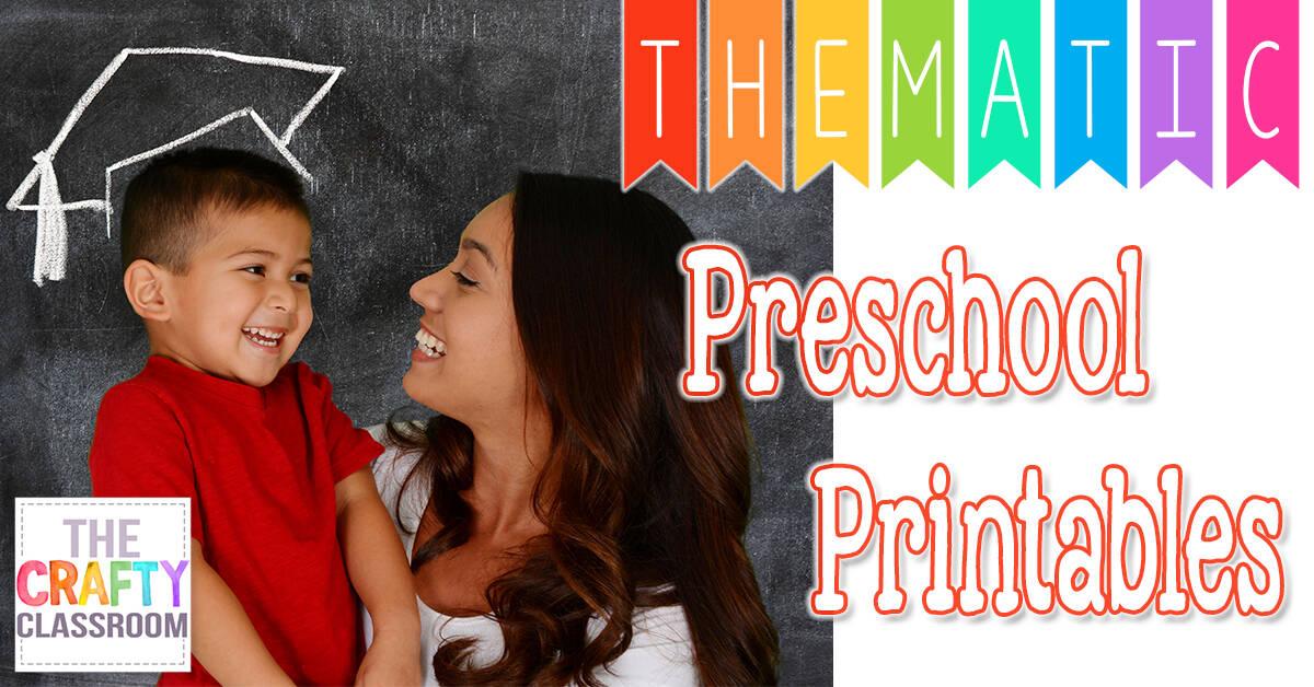 free preschool printables f