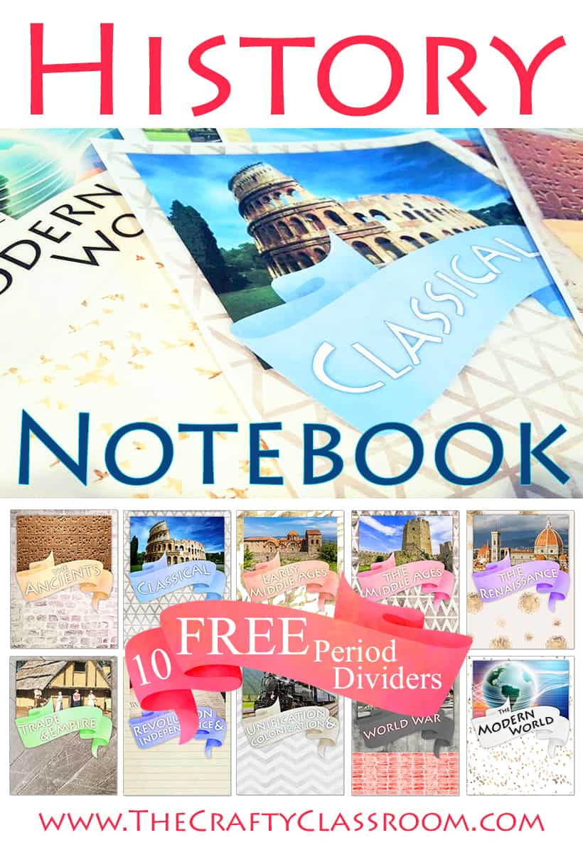 HistoryNotebookCovers