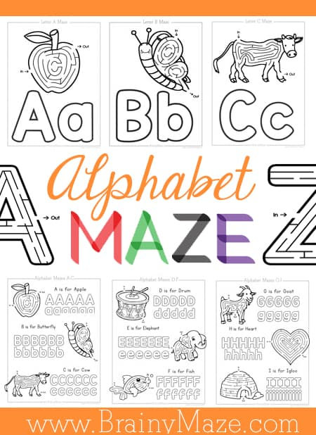 AlphabetMazePin