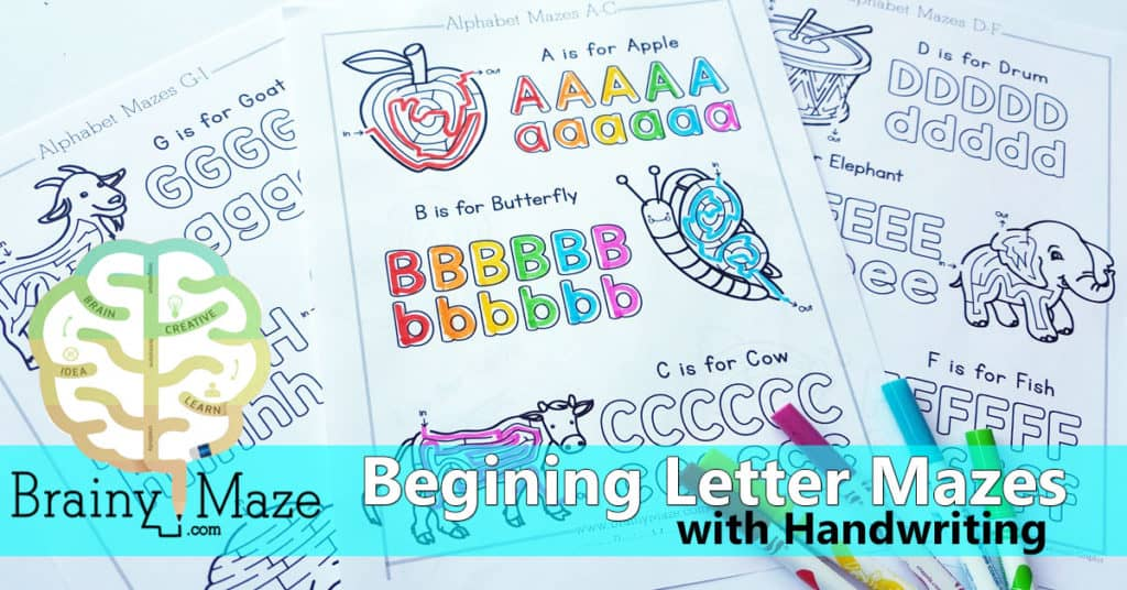 BeginningLetterHandwritingMazeHeader