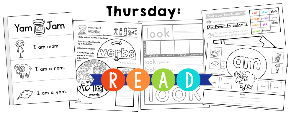 KindergartenReadingCurriculumThursday