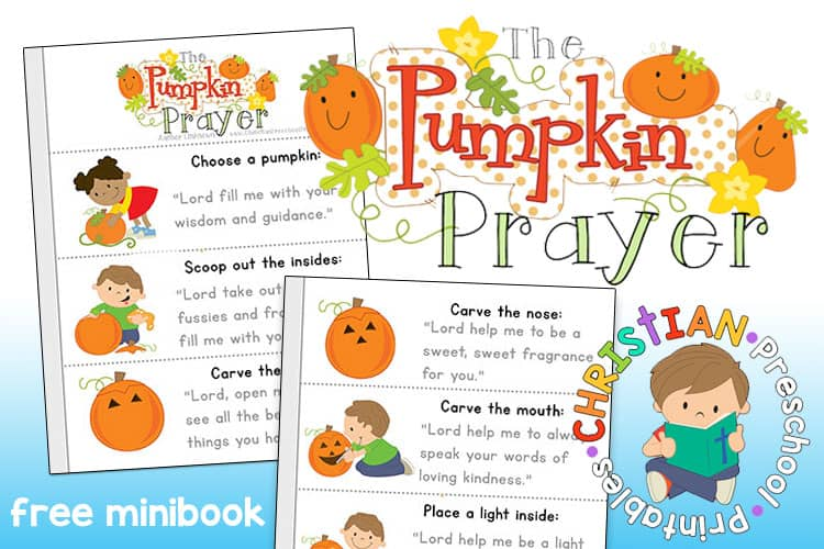 photo about Pumpkin Gospel Printable identify Pumpkin Prayer Printables - The Cunning Clroom