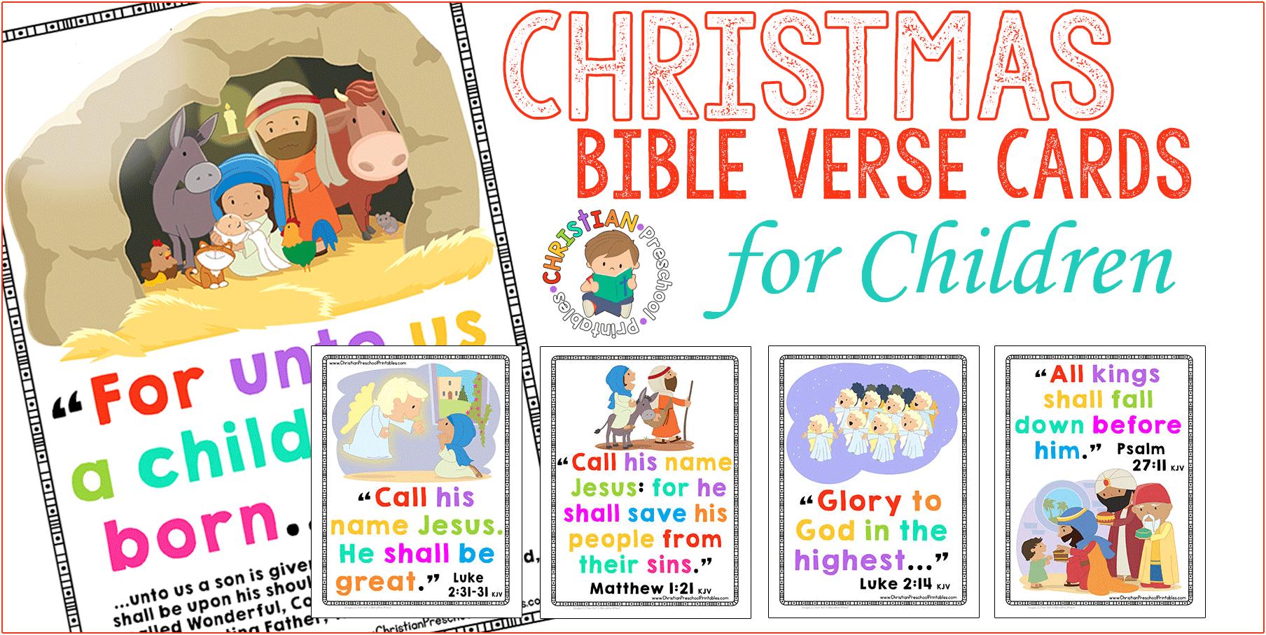 christmasbibleversecardsforkids