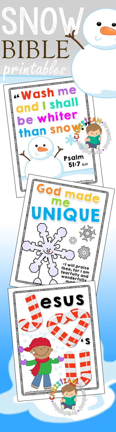 snowbibleprintables