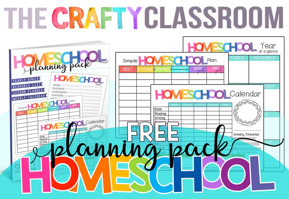 photo about Free Homeschool Planner Printable identified as Totally free Homeschool Planner - The Cunning Clroom