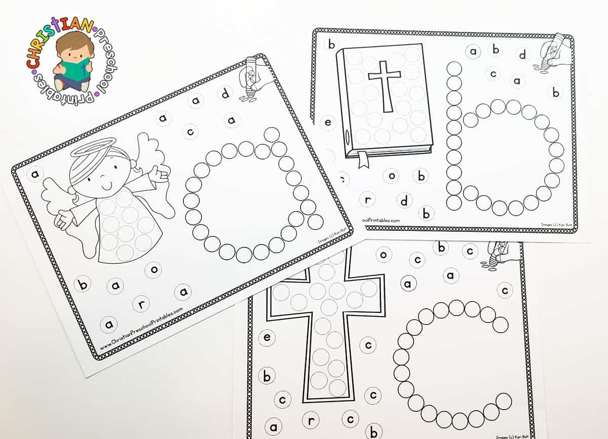 Free Preschool Worksheet Ink Daubers