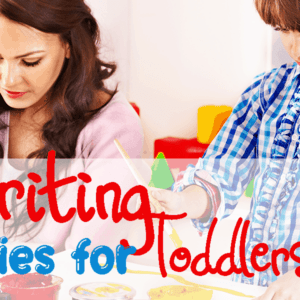 Pre Writing Activities to Start with Your Toddler