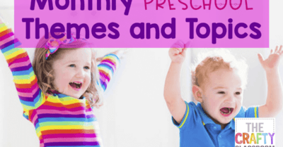 Monthly Preschool Themes & Topics