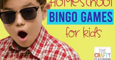 Homeschool BINGO Games for Kids