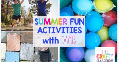 Summer Fun Activities with Games