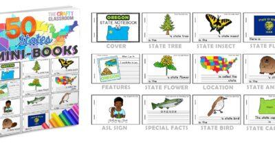 50 State Minibooks