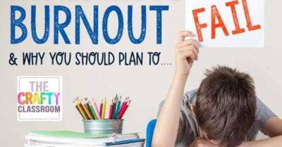 Homeschool Burnout: Why You Should Plan to Fail
