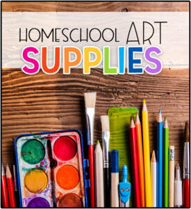 HomeschoolArtSupplies