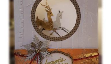 Christmas Card - Deer