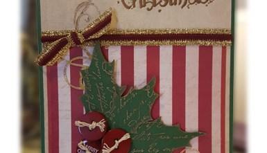 Christmas Card - Holly