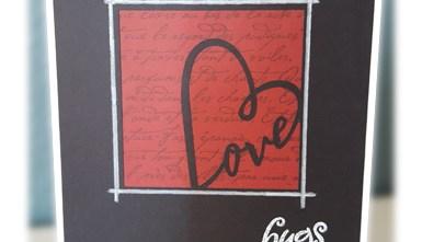 Valentine's Day Card - Hugs & Kisses