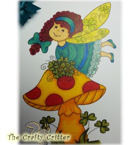 Clover Fairy from Imagine That Digistamps