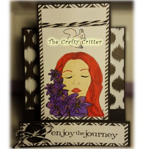 Handcrafted Card - Enjoy the Journey