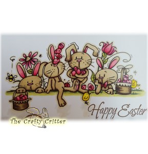 Easter Bunny Line from Bugaboo Stamps