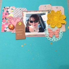 Courtney Ludman Gregory: Scraplifted from a layout by Raquel Bowman.