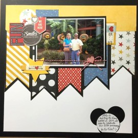 Kim Kelley Barrera: I scraplifted this from a Pinterest pin. It was posted to the Scrapbook.com by Stacy Cohen.