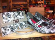 3. Fox Designs shoes & bag