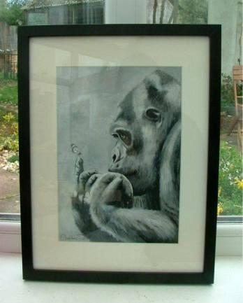 Christine Pettet Art Gorilla Gentle Giant