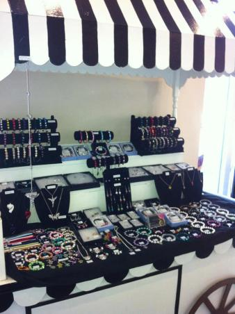 Coco Creations stall set up