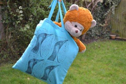 Penguine Tote Bag (Tedwood saying hello!)