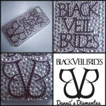 4. Dannii's Diamante's Black Veil Brides case