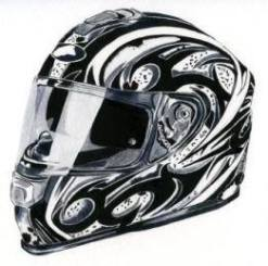 8. Louise Hickman Artworks Helmet