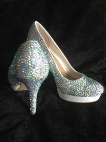 Designs 2 Dazzle Sparkly shoes