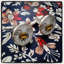 House of Redgrave bee cufflinks