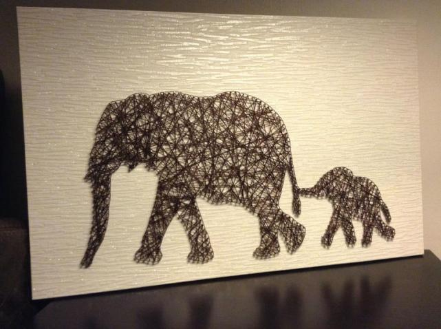 Sian Rudkin crafts Elephants