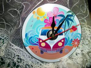 11. Mr Clock It camper van clock