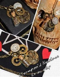 3. Carnage Candy steampunk jewellery