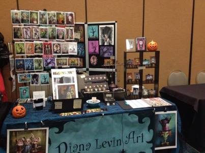 8. Diane Levin Art stall layout