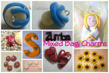 9. Ozle Creations polymer clay charms