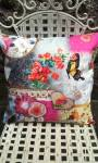 Notions Embroidery Brechin butterfly cushion