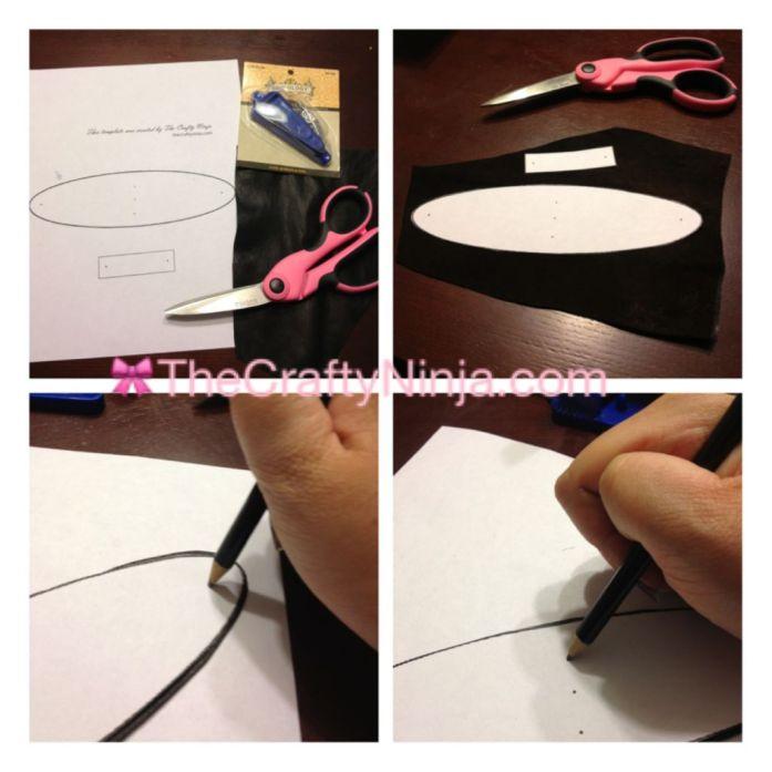 leather bow cuff bracelet 1