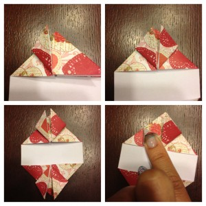 origami heart step 3